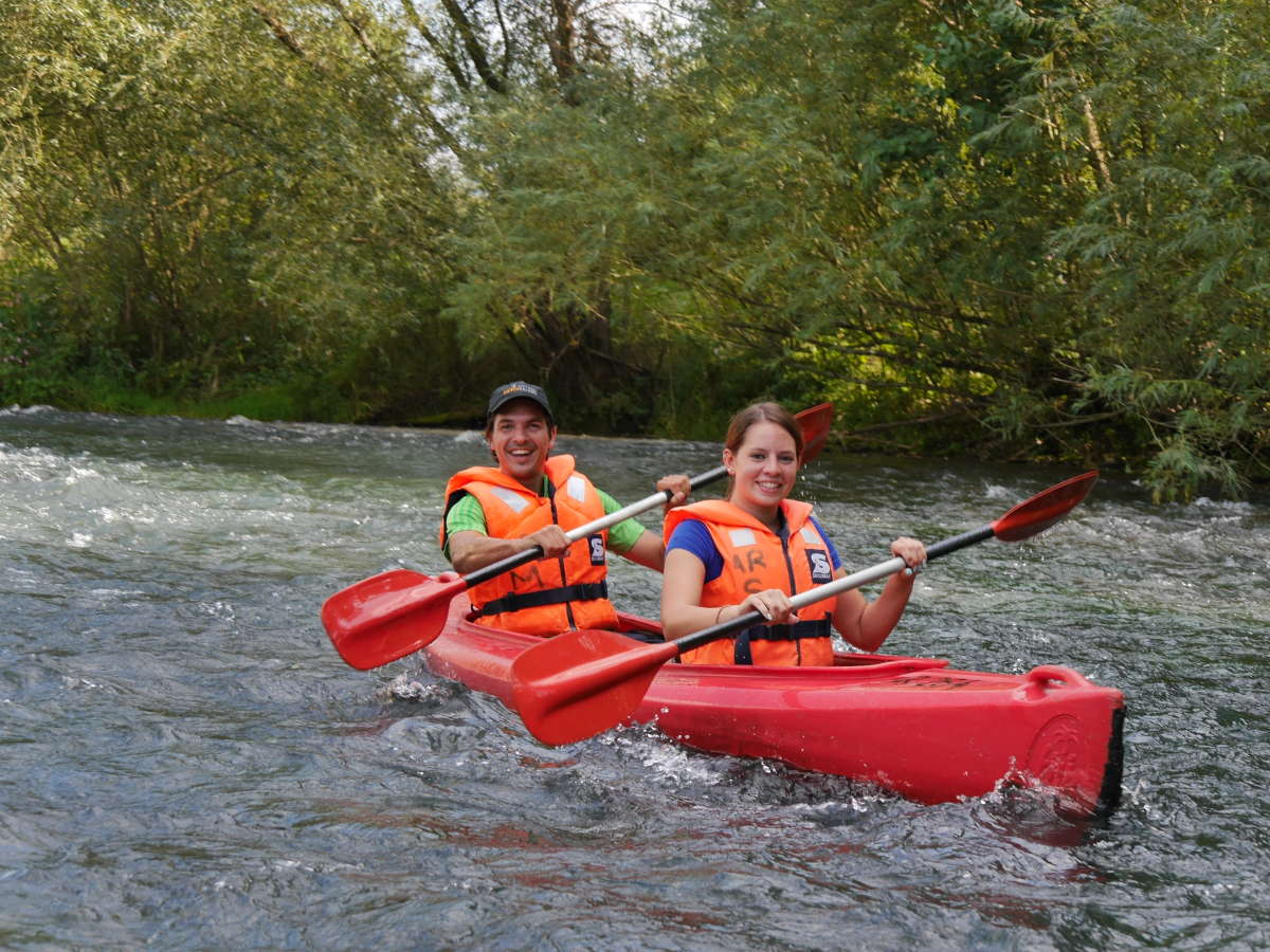 Canoe tours in 'Franconian Switzerland'