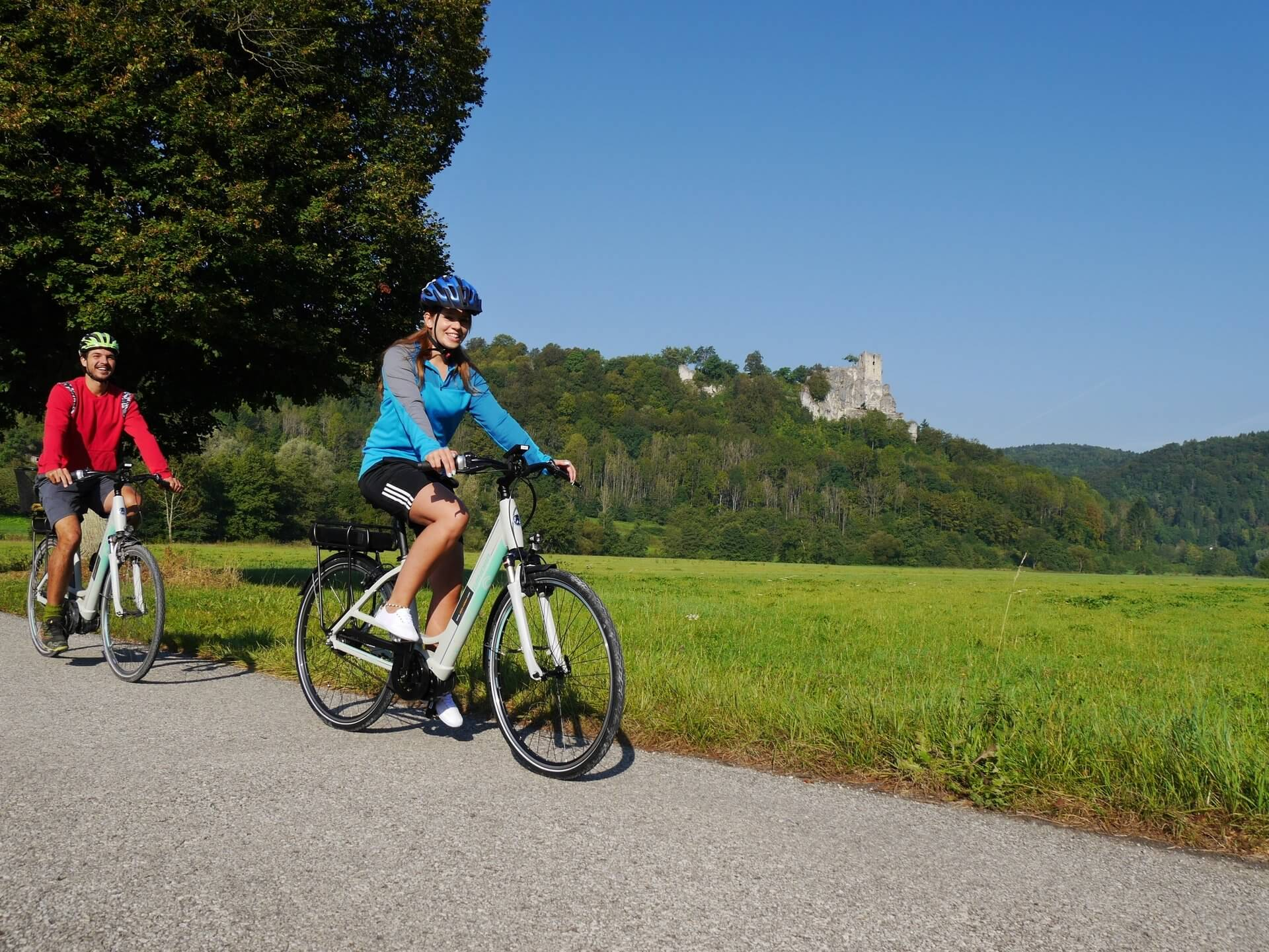Discover 'Franconian Switzerland' with our e-bikes...